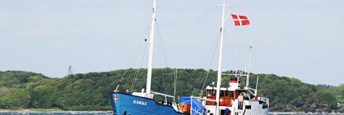 Skibet er ladet med - rariteter tikl Skarø Museum