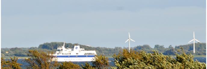 Ærøfærgen krydser Skippers Stuer 12 gange i døgnet